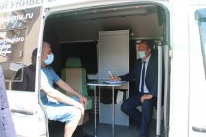 Фоторепортаж о всрече пациентов с работниками Минюста России
